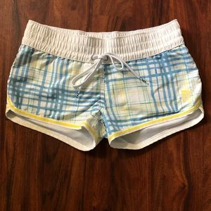 Adidas plaid shorts